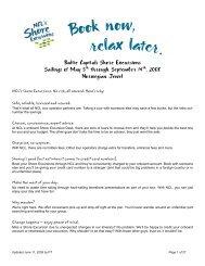 Baltic Capitals Shore Excursions Sailings of May 5th through ...