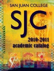 Full Catalog - San Juan College