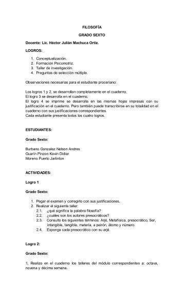 1. Conceptualización. 2. Formación Psicomotriz. 3. - Webcolegios