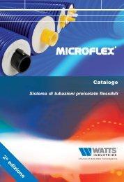 Sistema di tubazioni preisolate flessibili MICROFLEX - Watts Industries