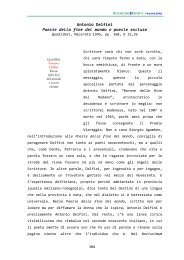 Antonio Delfini Poesie della fine del mondo e poesie escluse