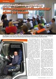 Schwertransportdienstleister plant im Voraus - Universal Transport
