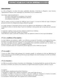 Règlement intérieur (PDF) - Ville de Brignoles