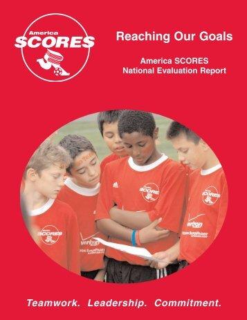 National Evaluation Report - America SCORES