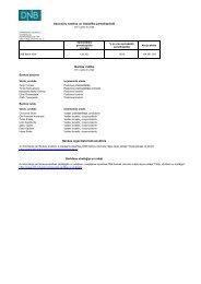 Finanšu pārskats par 2013. gada 2. ceturksni - DNB