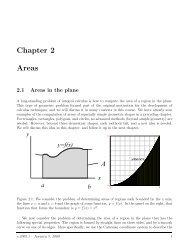 Chapter 2 Areas - Ugrad.math.ubc.ca
