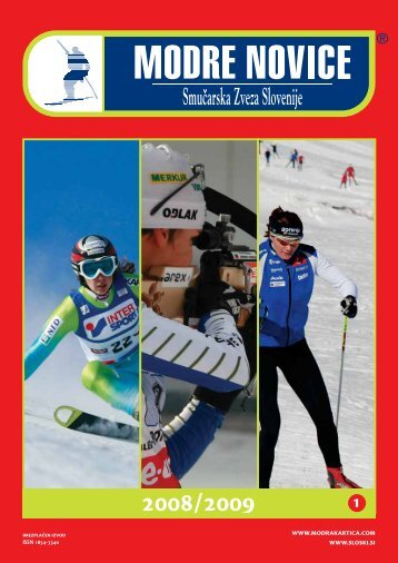 leto 2008/2009, Å¡tevilka 1 - Modra kartica