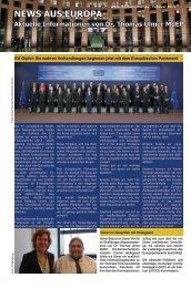News aus Europa - Februar 2013 - Dr. Thomas Ulmer MdEP