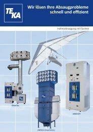 Wir lösen Ihre Absaugprobleme schnell und effizient - TEKA GmbH