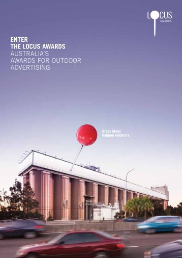 EntEr thE Locus AwArds AUSTRALIA'S AWARDS FOR ... - AdNews