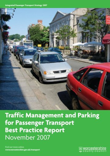 traffic management strategy - Worcestershire County Council