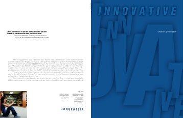 L'histoire d'Innovative - Innovative Interfaces Inc.
