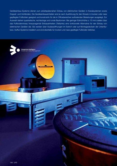 PDF Datei: Broschüre / Ackermann / Katalog UFS Geräteeinsätze