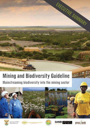 Mining and Biodiversity Guideline Executive Summary