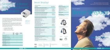 Product Brochure - CPAP Supply USA
