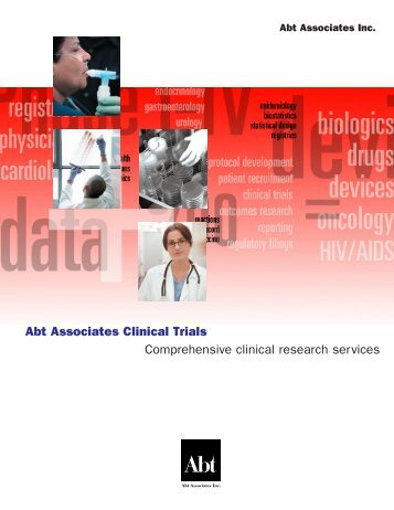 Abt Associates Clinical Trials Comprehensive clinical research ...