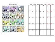 JANUARY 2013 2 3 4 5 6 7 8 9 10 11 12 13 14 15 16 17 18 19 20 ...