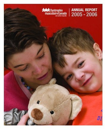 Rapport annuel 2005-2006 - Muscular Dystrophy Canada