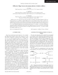 Diffractive Higgs bosons and prompt photons at hadron colliders