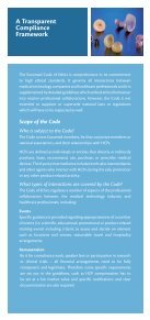 Applying the Eucomed Code of Ethics - Page 3