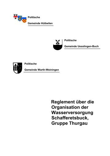 Schafferetsbuck - Gemeinde Uesslingen-Buch