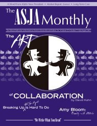 July/August 2003 - The ASJA Monthly