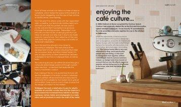 enjoying the café culture... - Decor8