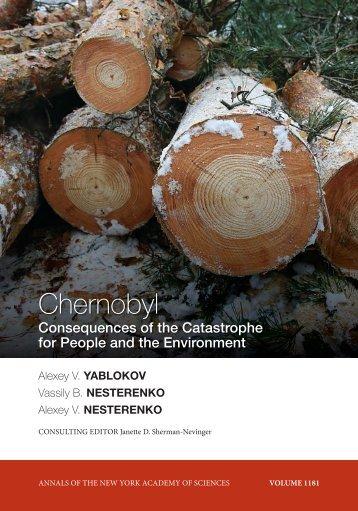 Yablokov Chernobyl book