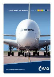 Annual Report and Accounts 2010-11 - Manchester Airport