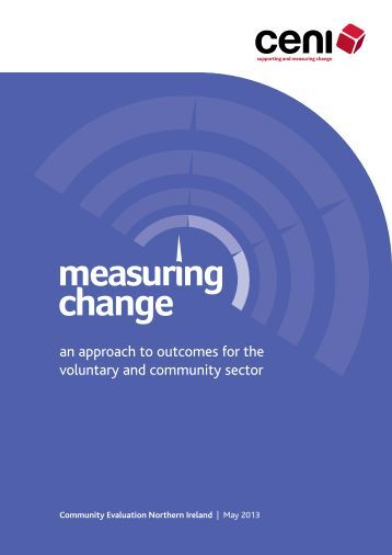 Measuring Change - Community Development Health Network