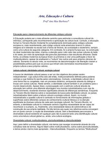 Arte, Educação e Cultura - Instituto 14 Bis de Educação e Cultura