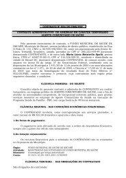 Relatório de Contratos 06/2005 - AMMOC