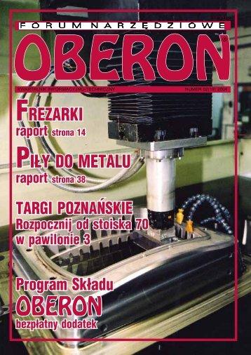 numer 02 (19) 2004 - Forum Narzędziowe Oberon