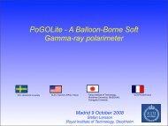 Seminar on PoGoLite