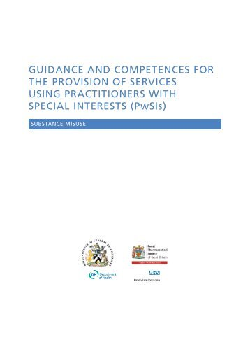 Substance misuse - Royal College of General Practitioners