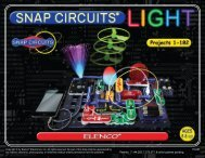 Copyright © by Elenco® Electronics, Inc. All rights reserved.