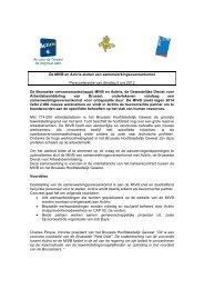 De MIVB en Actiris sluiten een samenwerkingsovereenkomst ...