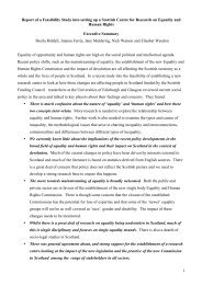 1 Report of a Feasibility Study into setting up a Scottish Centre for ...