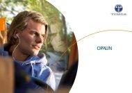 Opalin Confort et performances universellement ... - Temsa.com