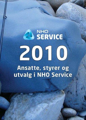 Ansatte, styrer og utvalg i NHO Service