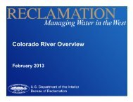 Colorado River Overview