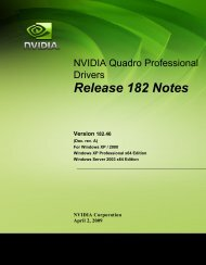 Release 182 Notes - Nvidia's Download site!!