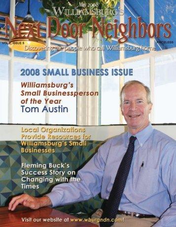 May - Williamsburg , VA Magazine , Next Door Neighbors