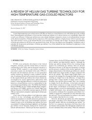 a review of helium gas turbine technology for high-temperature gas ...