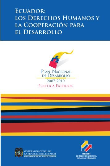 Ecuador - Ministerio de Relaciones Exteriores