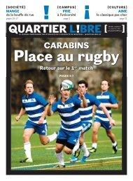Place au rugby - Quartier Libre
