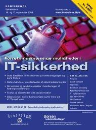 IT-sikkerhed - IBC Euroforum