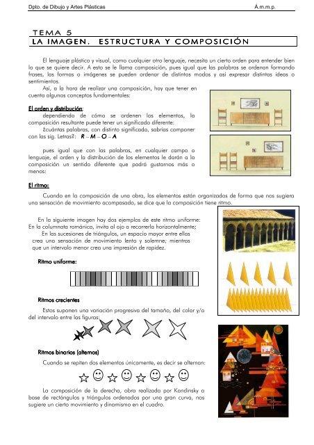 La Imagen Estructura Y Composiciã N
