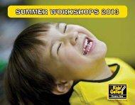 SUMMER WORKSHOPS 2013 - Kids' Gallery