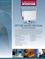 QPT-200 and QPT-500 Series - Moog Quickset